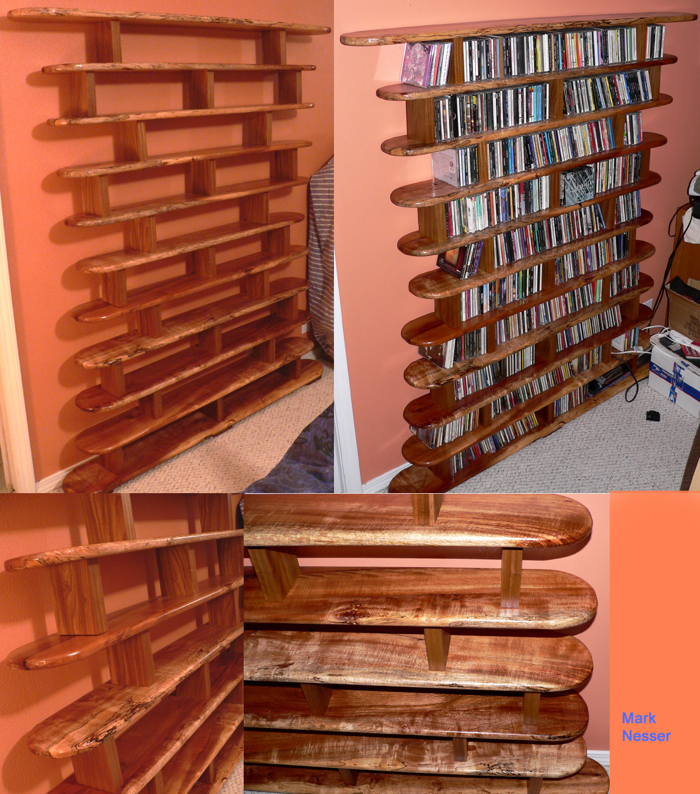 How To Make A Cd Rack Out Of Wood