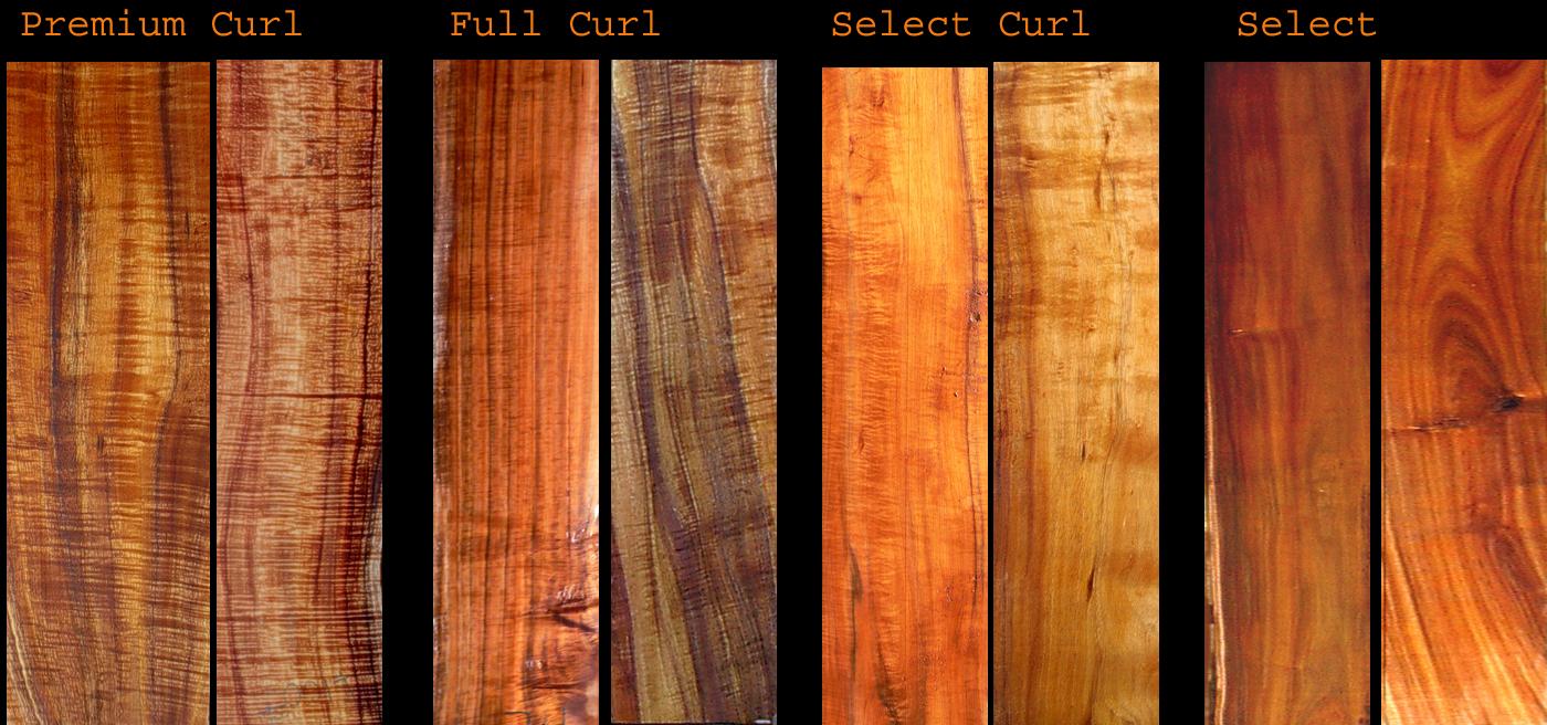 Roy Lambrecht Koa Product 1 We Have Curly Koa Wood