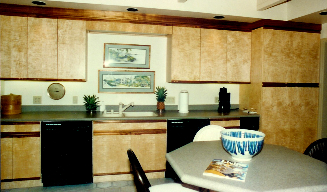 birdseye maple kitchen cabinets roy lambrecht service 1 we custom made cabinets made 12301
